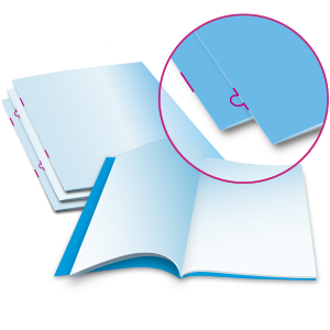 Broschüren | Kataloge | Magazine mit Drahtheftung | Klammerheftung | Ringösenheftung