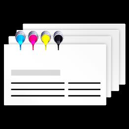 Visitenkarten nach Euroskala (Digitaldruck)