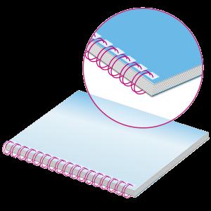Broschüren mit Wire-O-Bindung | Spiralbindung