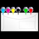 Kuvertierhüllen in ALLEN Formaten. mit / ohne Fenster, 4farbig nach Euroskala (CMYK)