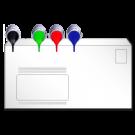 Briefumschläge in ALLEN Formaten, mit / ohne Fenster nach HKS / Pantone